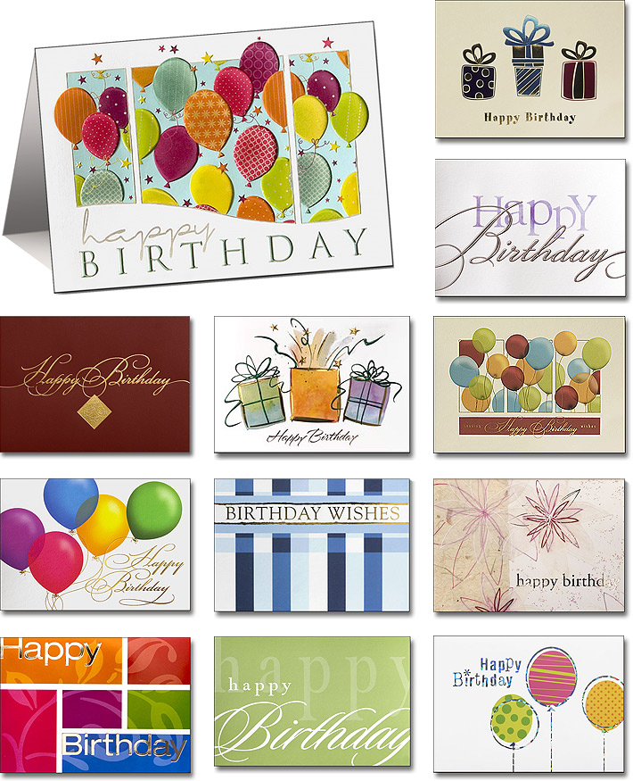 Birthday Company New Birthday cards