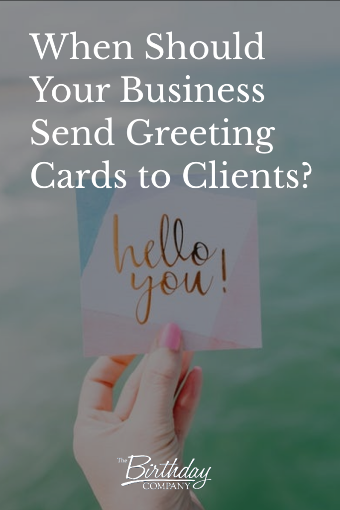 Stay connected to your clients and make them feel extra special throughout the year with these great greeting card tips!