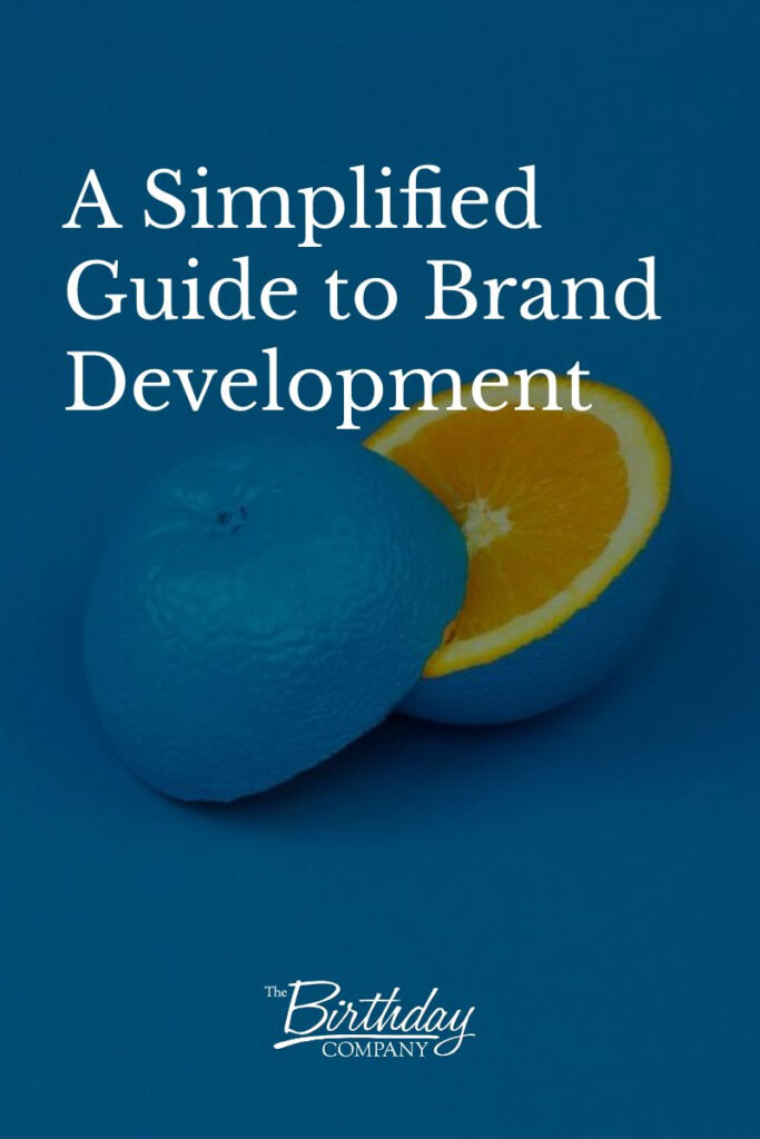 a simplified guide to brand development